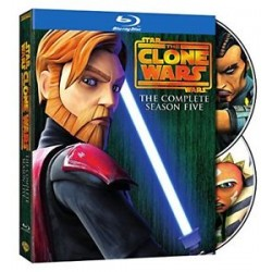 STAR WARS - THE CLONE WARS - 5 SEASON