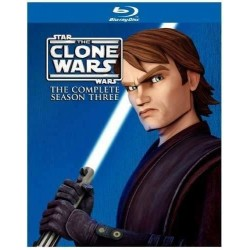 STAR WARS - CLONE WARS - 3 SEASON