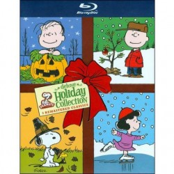 PEANUTS - DELUXE HOLIDAY COLLECTION - ITS THE GREAT PUMPKIN CHARLIE BROWN / A THANKSGIVING / A CHRISTMAS
