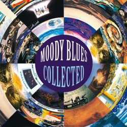 MOODY BLUES COLLECTED 2 LP