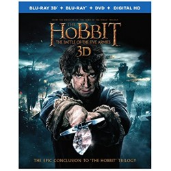 THE HOBBIT THE BATTLE OF THE FIVE ARMIES + DVD