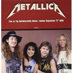 METALLICA - LIVE AT THE HAMMERSMITH ODEON, LONDON 1986