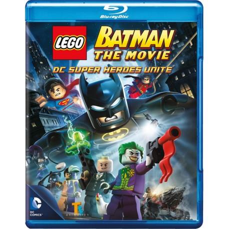 LEGO BATMAN THE MOVIE DC SUPER HEROES UNITE BLU-RAY