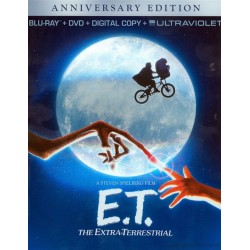 E.T. The Extra-Terrestrial - Anniversary Edition - Blu-Ray + DVD + Digital Copy + UltraViolet