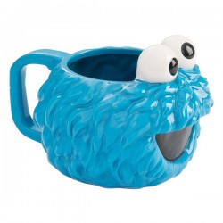COOKIE MONSTER - PLAZA SESAMO - SCULPED MUG