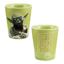 YODA - STAR WARS - SHOT GLASS CERAMIC