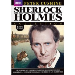 SHERLOCK HOLMES COLLECTION PETER CUSHING