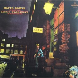 DAVID BOWIE - THE RISE AND FALL OF ZIGGY STRADUST AND THE SPIDERS FROM MARS