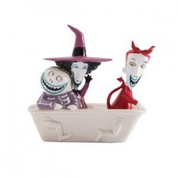 Salpimentero Lock, Shock and Barrel - Nightmare Before Christmas (Salt & Pepper Set)
