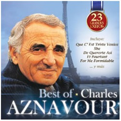 CHARLES AZNAVOUR - BEST OF - 23 GRANDES ÉXITOS
