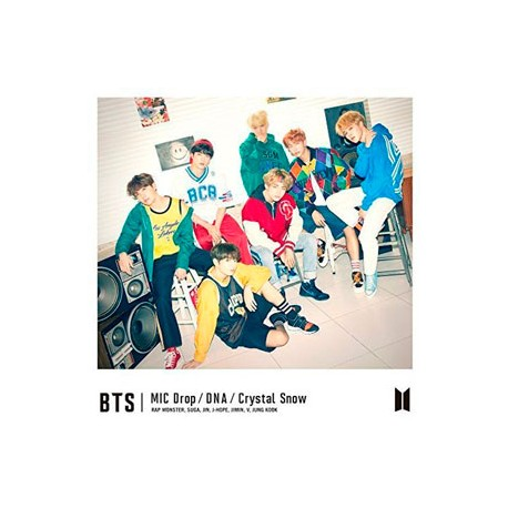 BTS - MIC DROP DNA CRYSTAL SNOW TYPE A