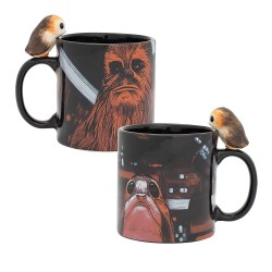 CHEWBACCA WITH PORG - STAR WARS - CERAMIC MUG