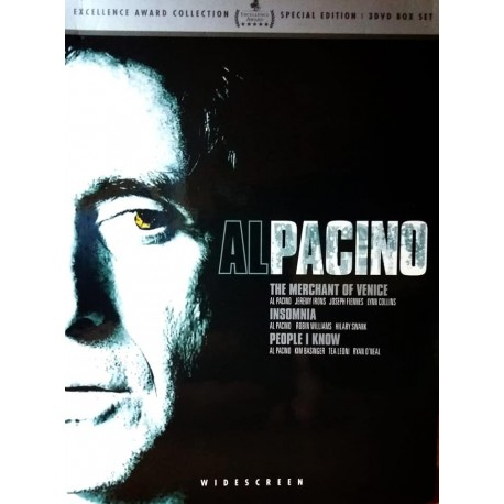 AL PACINO - THE MERCHANT OF VENICE / INSOMNIA / PEOPLE I KNOW