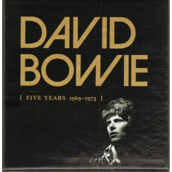 DAVID BOWIE - FIVE YEARS 1969 - 1973