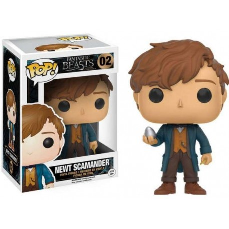 Pop! 02: Fantastic Beasts & Where to Find Them / Newt Scamander with Egg