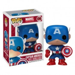 Pop! 06: Capitán América / MARVEL