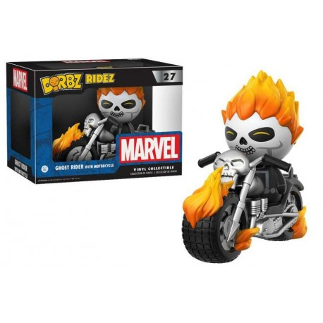 Dorbz 27: Ghost Rider With Motorcycle