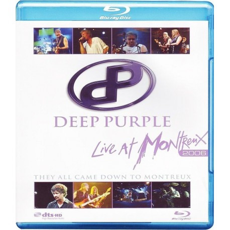 BLU-RAY DEEP PURPLE LIVE AT MONTREUX 2006