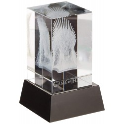 GAME OF THRONES - 3D CRYSTAL IRON THRONE