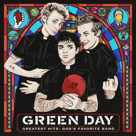 GREEN DAY GREATEST HITS GOOD FAVORITE 2 LP