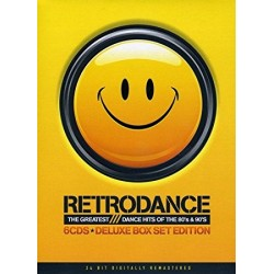 Retrodance-The Gratest Dance Hits of the 80's & 90 (6 CDS)
