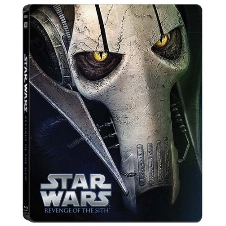 STAR WARS: EPISODIO III - REVENGE OF THE SITH LIMITED EDITION STEELBOOK BLU-RAY