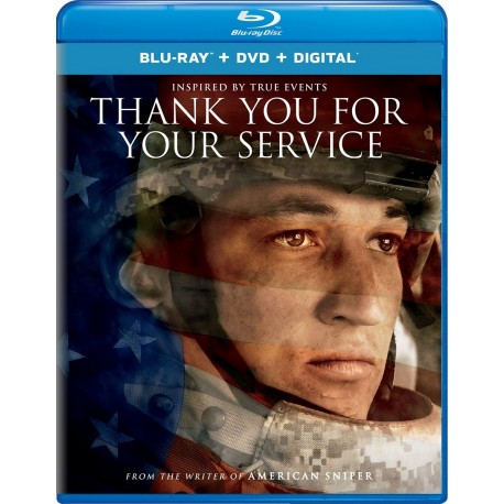 THANK YOU FOR YOUR SERVICE BLU-RAY + DVD