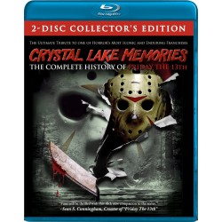 CRYSTAL LAKE MEMORIES THE COMPLETE HISTURY OF FRIDAY THE 13th BLU-RAY