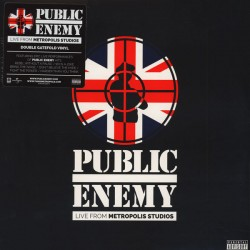 PUBLIC ENEMY - LIVE FROM METROPOLI STUDIOS