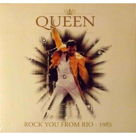 QUEEN - ROCK YOU FROM RIO 1985