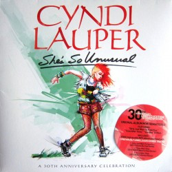 CYNDI LAUPER - SHE IS SO UNUSUAL