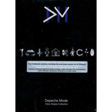 DEPECHE MODE VIDEO SINGLES COLLECTION