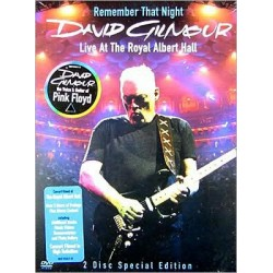 DAVID GILMOUR LIVE AT ROYAL ALBERT HALL