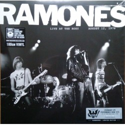 RAMONES - LIVE AT THE ROXY AUGUST 12, 1976.