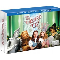 The WIZARD of OZ: 75th Anniversary Collection Blu-Ray 3D