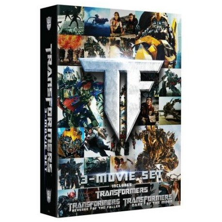 Transformers Trilogy Movie Set