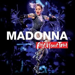 BLU-RAY MADONNA REBEL HEART TOUR + CD