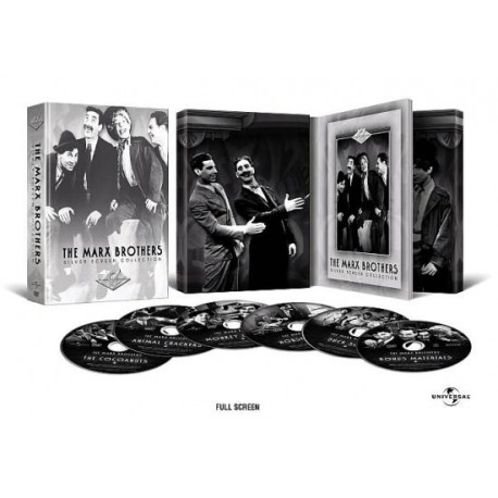 THE MARX BROTHERS - SILVER SCREEN COLLECTION