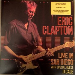 ERIC CLAPTON - LIVE IN SAN DIEGO WITH SPECIAL GUEST JJ CALE