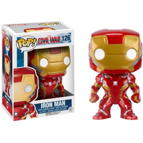 Pop! 126: IRON MAN / Capitán América - Civil War