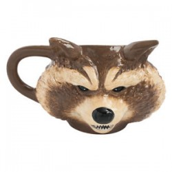 ROCKET RACCOON - GUARDIANS GALAXY - SCULPED MUG