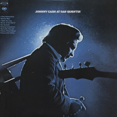 JOHNNY CASH AT SAN QUENTIN