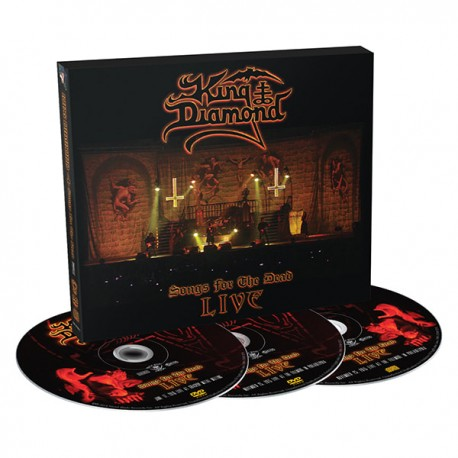 KING DIAMOND - SONGS DEAD LIVE