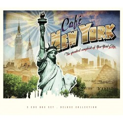 CAFE NEW YORK - THE GREATEST SONGBOOK OF NEW YORK CITY - VARIOS ARTISTAS
