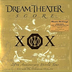 DREAM THEATER - SCORE - 20th ANNIVERSARY WORLD TOUR - LIVE THE OCTAVARIUM ORCHESTRA