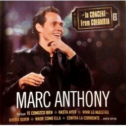 MARC ANTHONY - IN CONCERT FROM COLOMBIA