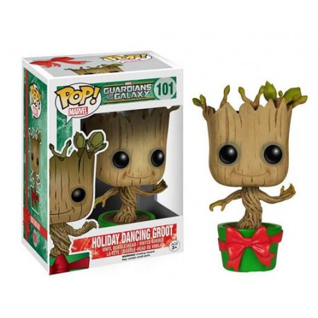 Pop! 101: Guardians of the Galaxy / Holiday dancing Groot