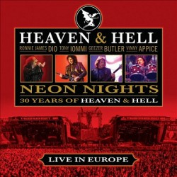 HEAVEN AND HELL - NEON NIGHTS - 30 YEARS OF HEAVEN AND HELL - LIVE IN EUROPE