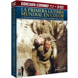 LA PRIMERA GUERRA EN COLOR + 3 DVD