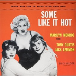 MARILYN MONROE - SOME LIKE IT HOT - SOUNDTRACK